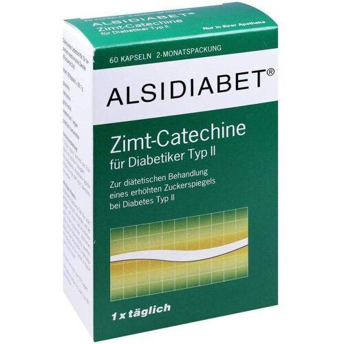 Alsidiabet Zimt Catechine Für Diabetes Typ II 60 Kapseln