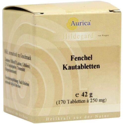 Fenchelkautabletten Aurica 170 Kautabletten