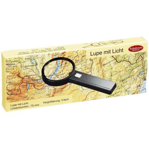 Lupe Mit Licht 3-Fach Vergrößerung 1 Stück