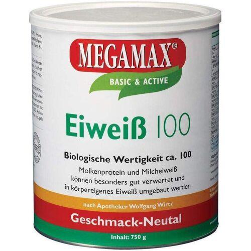 Megamax Eiweiß 100 750 G Pulver