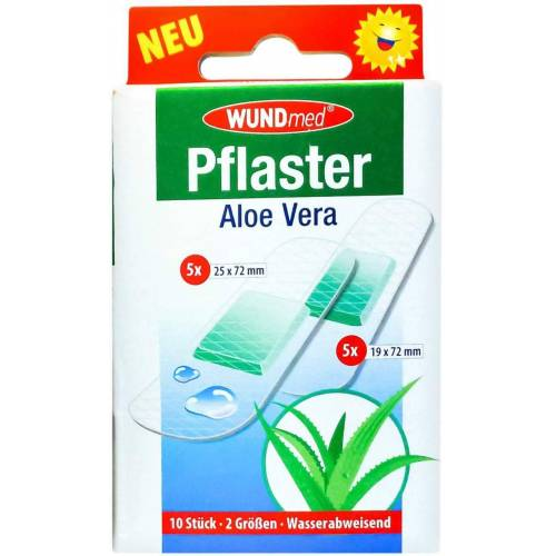 Aloe Vera Pflaster 2 Groessen Wasserfest
