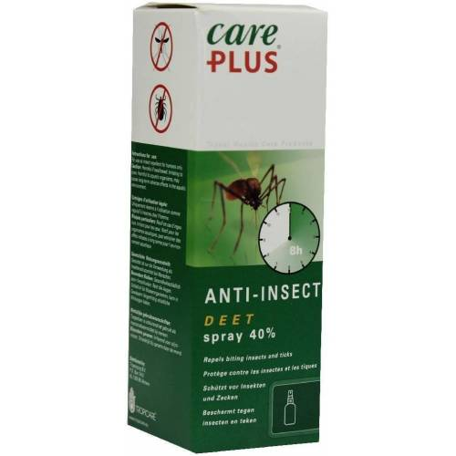 Care Plus Deet Anti-Insect 60 ml Spray 40%