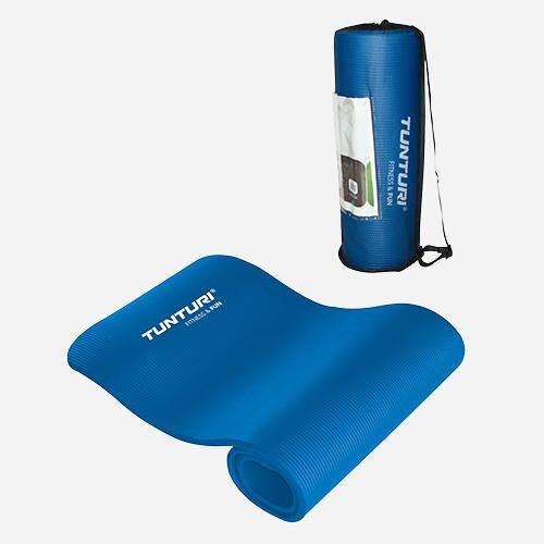 Tunturi Fitnessmatte - Blau