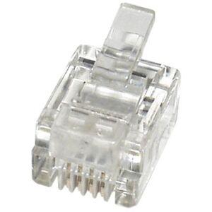 econ connect Modular-Stecker MPL64, 6P4C f&#252 r Flachkabel