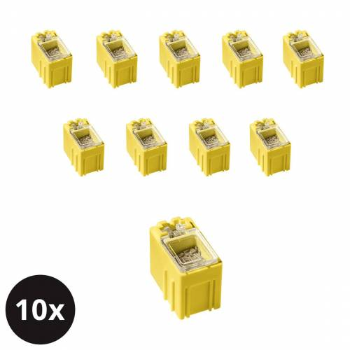 ELV 10er-Set ELV SMD-Sortierbox, Gelb, 23 x 15,5 x 27 mm