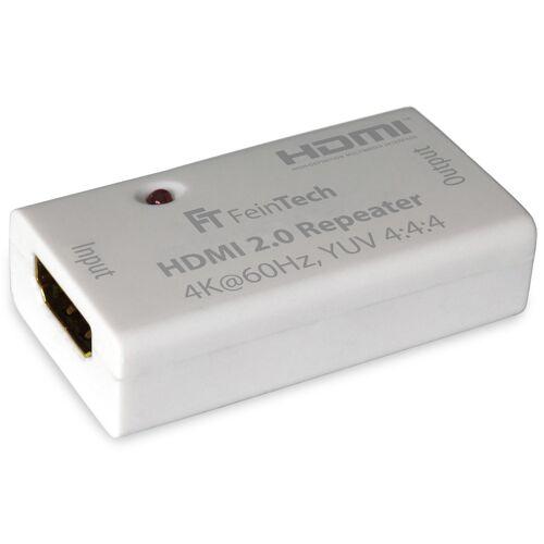 FeinTech HDMI-2.0-Repeater / Signal-Verstäker, HDCP 2.2, 4K/UHD, für bis zu 50 m HDMI-Reichweite
