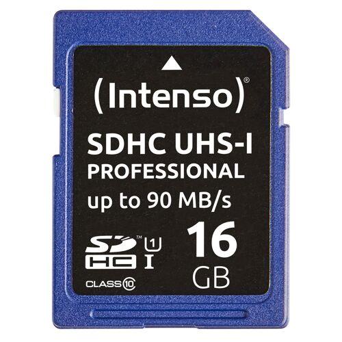 Intenso SDHC-Speicherkarte, UHS-I, 90 MB/s, 16 GB
