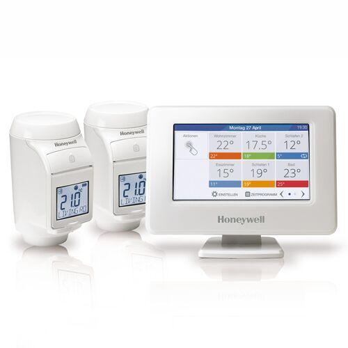 Honeywell evohome WIFI Starterset mit Bediengerät und 2-Funk-Heizkörperthermostaten
