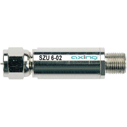 Axing Überspannungsschutz SZU 6-02, F-Stecker/-Buchse
