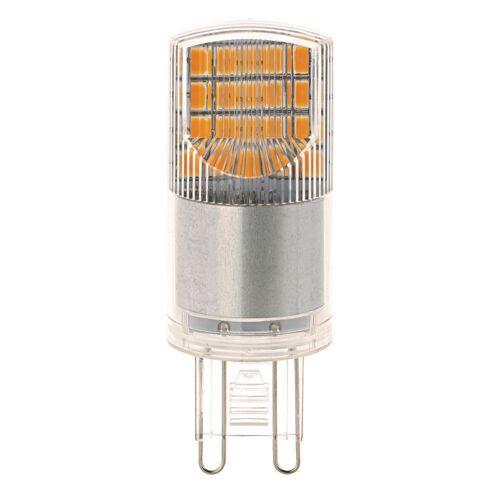Sigor 3,5-W-G9-LED-Lampe, warmweiß, dimmbar, Ersatz für 30-W-Halogenlampen