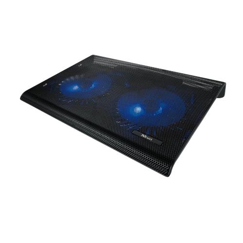1 Trust Azul Laptop Kühlständer mit Dualen Lüftern