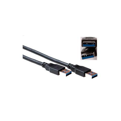 3 ACT USB 3.1 gen 1 (USB 3.0) Anschlusskabel A Male 1m