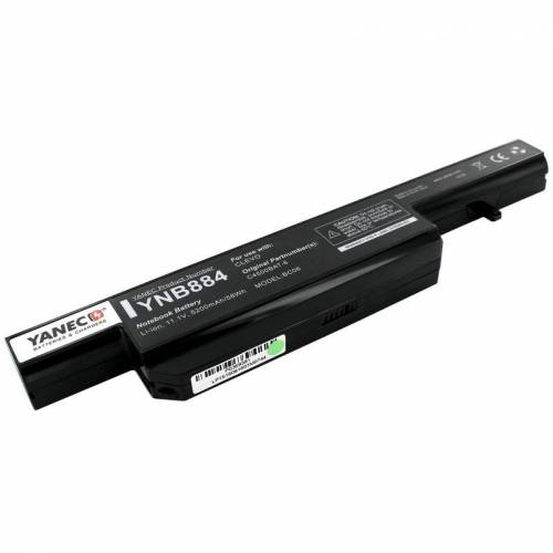 1 Yanec Laptop Akku 5200mAh für Clevo C4500/C4500Q