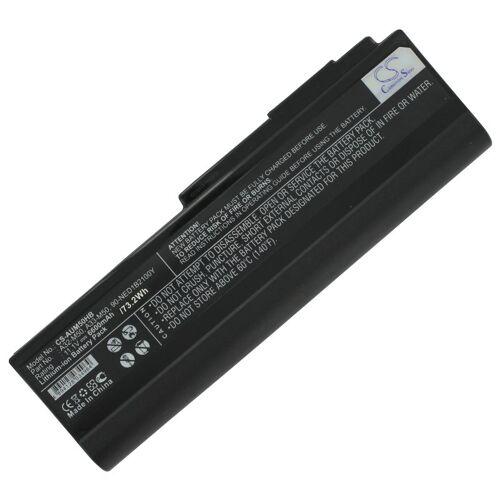 1 Laptop Hochleistungsakku 6600mAh für Asus M50/G60