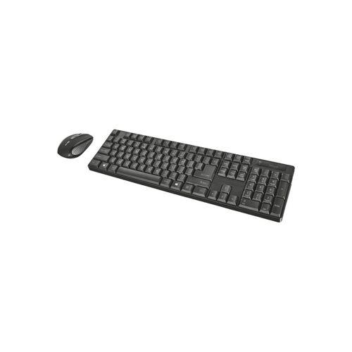 1 Trust XIMO kabelloses Deskset Tastatur und Maus