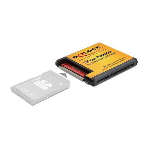 3 Delock CFast Adapter für SDXC / SDHC / SD Speicherkarten