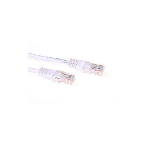 3 ACT CAT5E U/UTP patchkabel wit 1.5 m