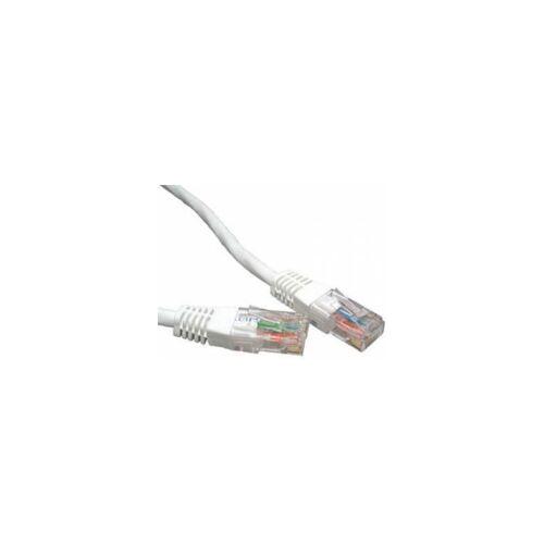 3 ACT Netzwerkkabel CAT6 U/UTP 0.5m Weiss