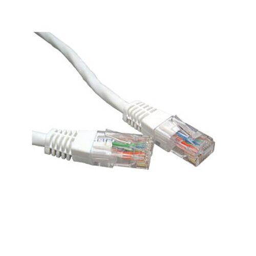 1 ACT Netzwerkkabel CAT6 U/UTP 3m Weiss