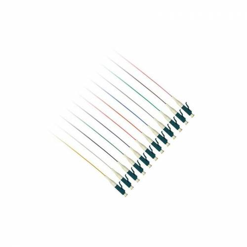 3 ACT LC 50/125um OM4 pigtails (12 stuks) 1 m