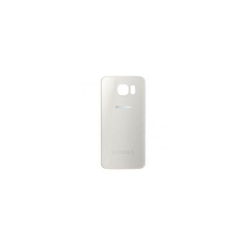 1 Samsung Galaxy S6 Batteriedeckel - Weiss für Samsung Galaxy S6 SM-G920F