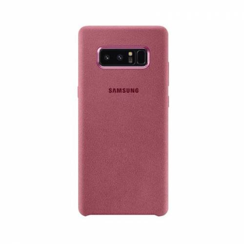 3 Samsung Alcantara Cover Galaxy Note8 - Roze