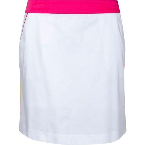 girls golf Skort White Pink Swing weißpink