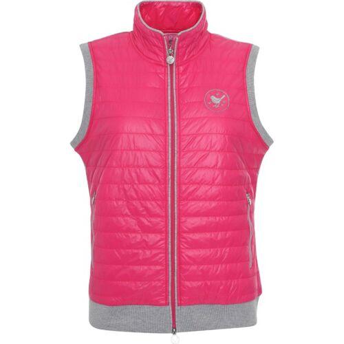 girls golf Weste Bodywarmer pink