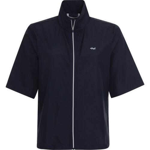 Röhnisch Windshirt Pocket Wind Short Sleeve navy