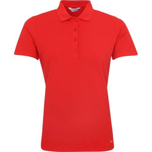 Brax Golf Poloshirt Pia G kurzarm rot