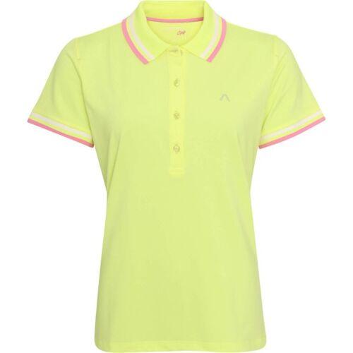 Alberto Poloshirt Isy Dry kurzarm gelb