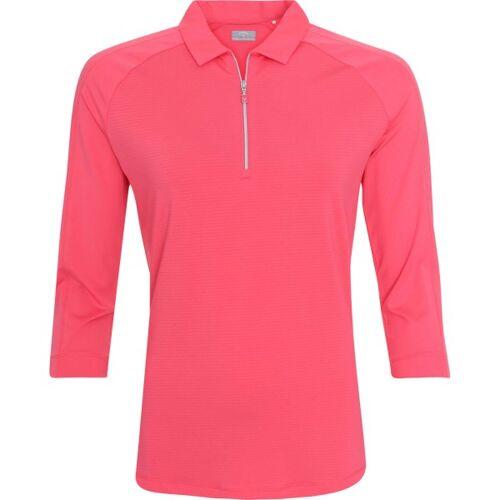 Callaway Poloshirt Jersey 34 Arm rosa