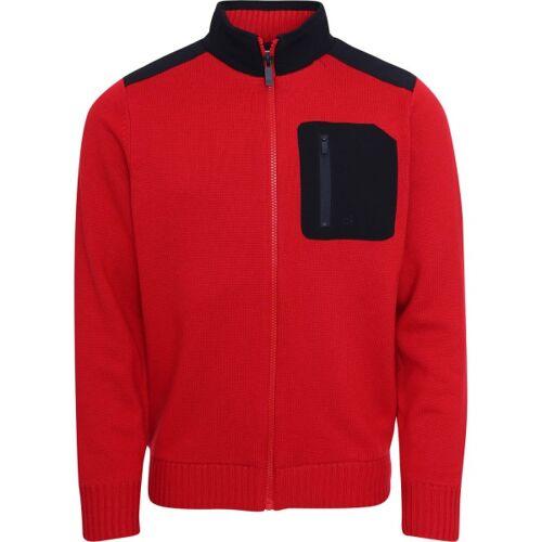 Calvin Klein Golf Jacke Wind Navigation rot