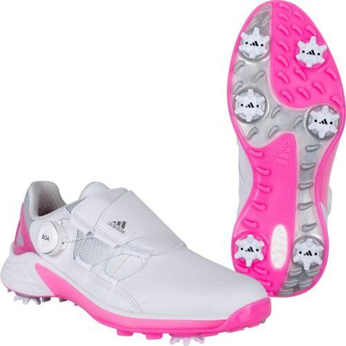 Adidas Golfschuh ZG 21 BOA weißpink