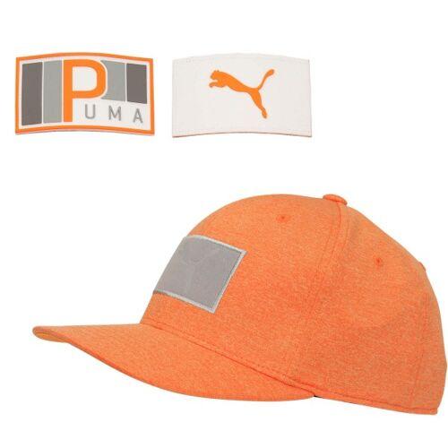 Puma Cap Utility Patch orange