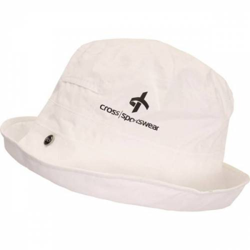 Cross Regenhut weiß