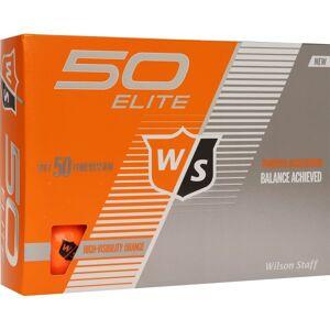 Wilson Staff Fifty Elite Golfbälle orange