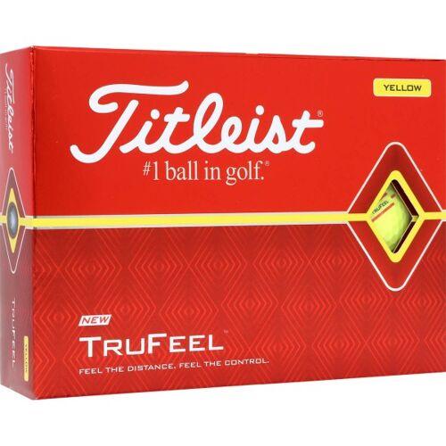 Titleist TruFeel Golfbälle gelb