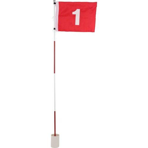 Mikado Golfhole mit Fahne