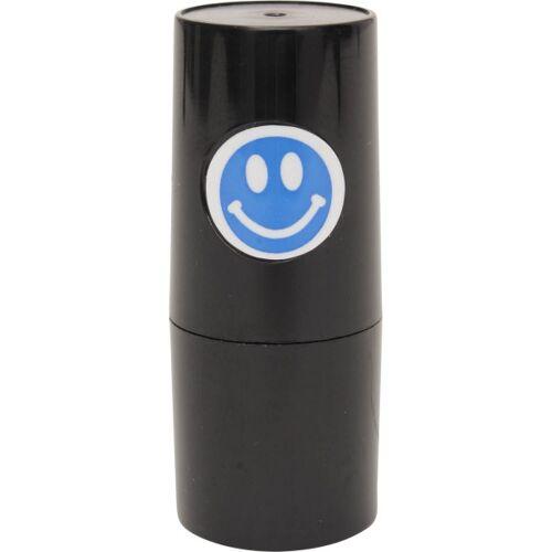 Sonstige Golfball-Stempel Smiley komplett blau