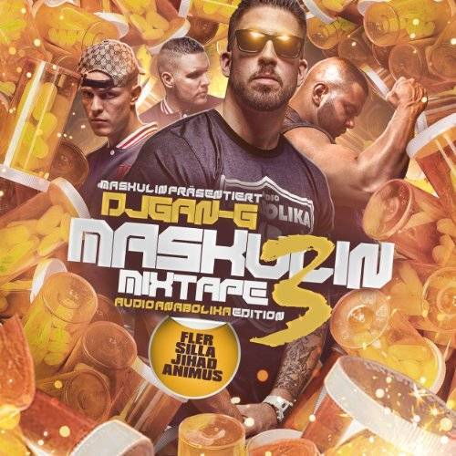 Fler Präsentiert - Maskulin Mixtape Vol.3 Audio Anabolika Edition (Limited Premium Fan Edition inkl. Bonus CD + T-Shirt Gr. L / exklusiv bei Amazon.de) - Preis vom 13.05.2021 04:51:36 h