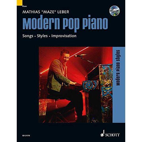 Maze Modern Pop Piano: Songs - Styles - Improvisation. Klavier. Ausgabe mit CD. (Modern Piano Styles) - Preis vom 16.05.2021 04:43:40 h