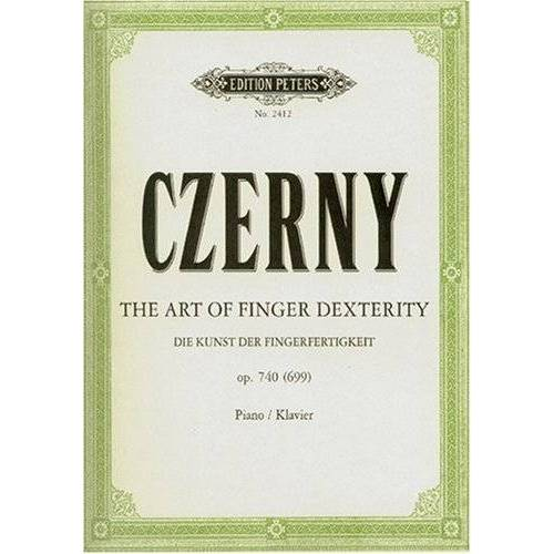 Carl Czerny - Die Kunst der Fingerfertigkeit op. 740 (699): Art of Finger Dexterity. Klavier / Piano - Preis vom 19.06.2021 04:48:54 h