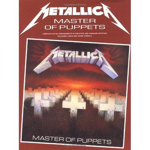 Metallica - Metallica: Master of Puppets - Preis vom 11.06.2021 04:46:58 h
