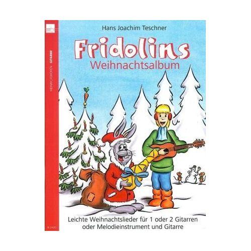 Teschner, Hans J - Fridolins Weihnachtsalbum - Preis vom 22.06.2021 04:48:15 h