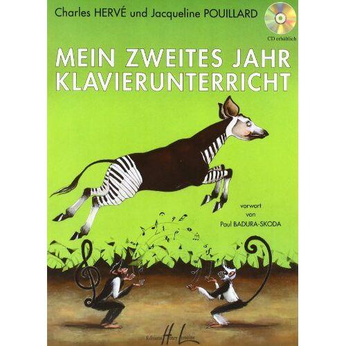 Charles Herve - Mein zweites Jahr Klavierunterricht - Preis vom 18.06.2021 04:47:54 h