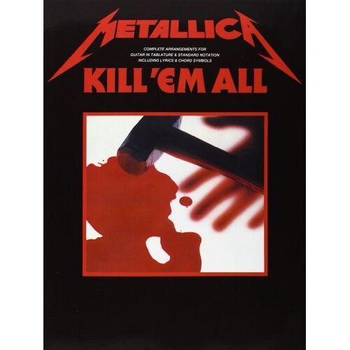 #value! - Kill 'Em All. Gitarre, Tabulatur - Preis vom 16.06.2021 04:47:02 h
