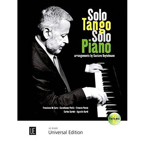 Gustavo Beytelmann - Solo Tango Solo Piano: Band 2 - Preis vom 13.06.2021 04:45:58 h