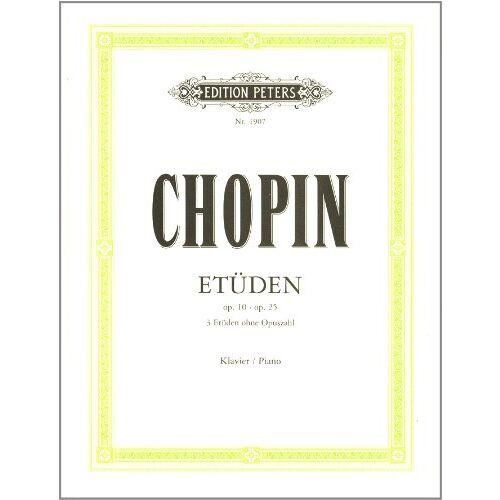 Frederic Chopin - Chopin: Etüden Op. 10 & 25. Klavier - Preis vom 21.06.2021 04:48:19 h