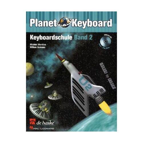 Michiel Merkies - Planet Keyboard, Keyboardschule, m. Audio-CD - Preis vom 27.02.2021 06:04:24 h